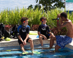 There's so much family fun to be had at the Jean-Michel Cousteau Resort!