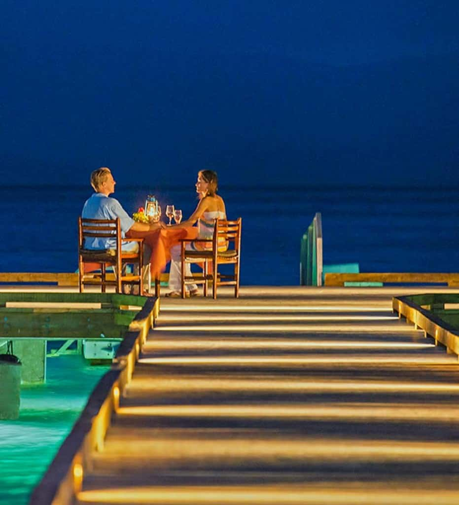 night dining pier
