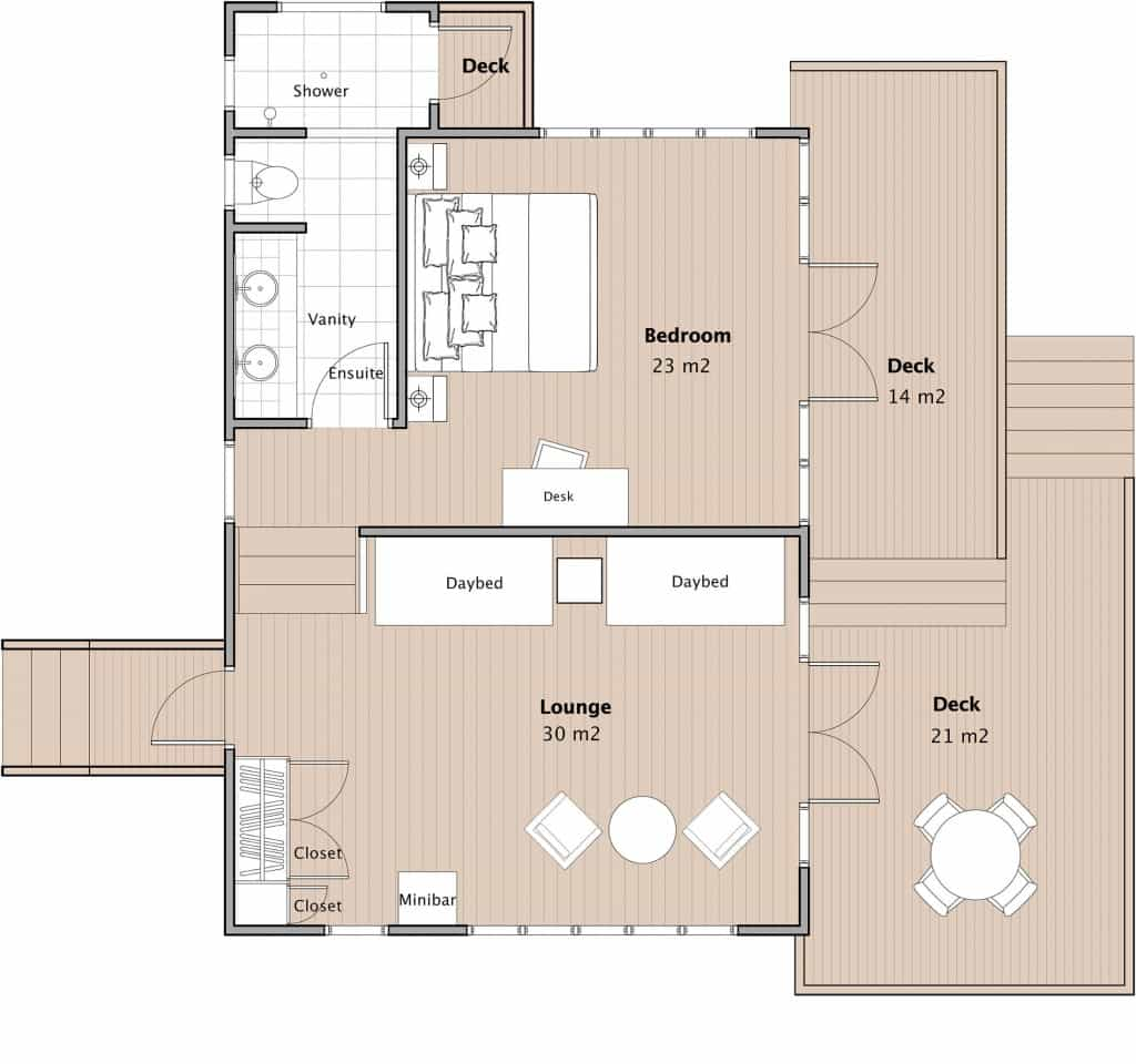 point reef bure floor plan