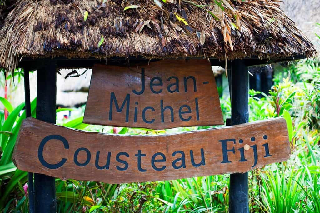fiji resort sign