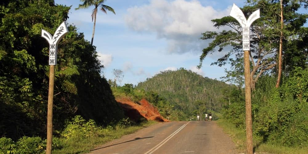 What wonders might you find on Fiji's gentle roads?