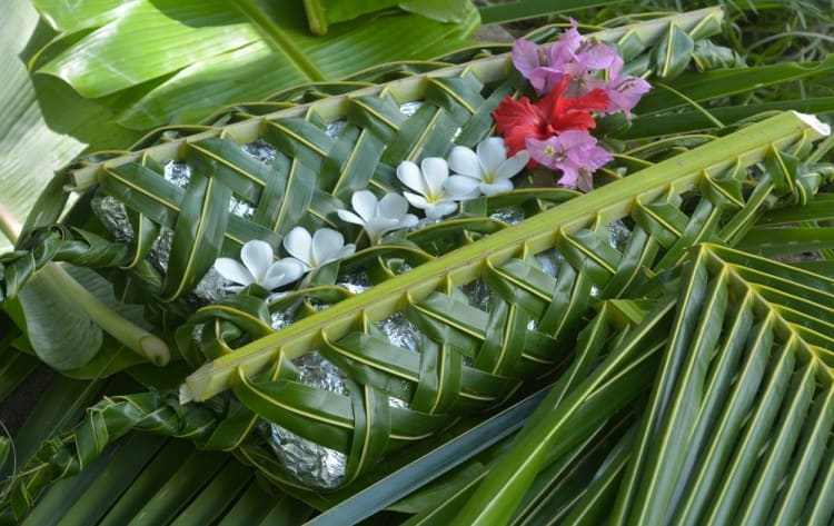 Experience the flavours of a Fijian lovo at the Jean-Michel Cousteau Resort.