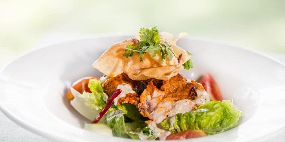 Enjoy incredible Fijian food at the Jean-Michel Cousteau Resort.
