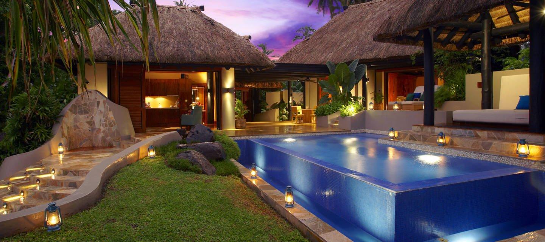 Presidential Villa Pool Exterior