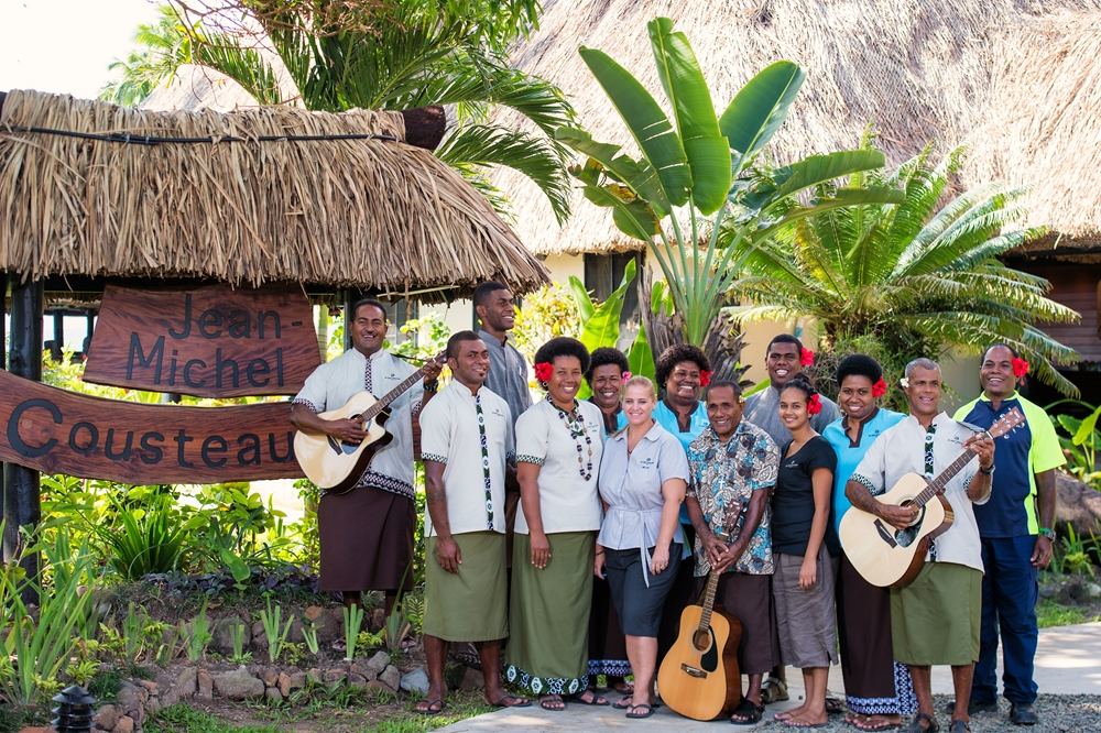 Immerse yourself in culture at the Jean-Michel Cousteau Resort.