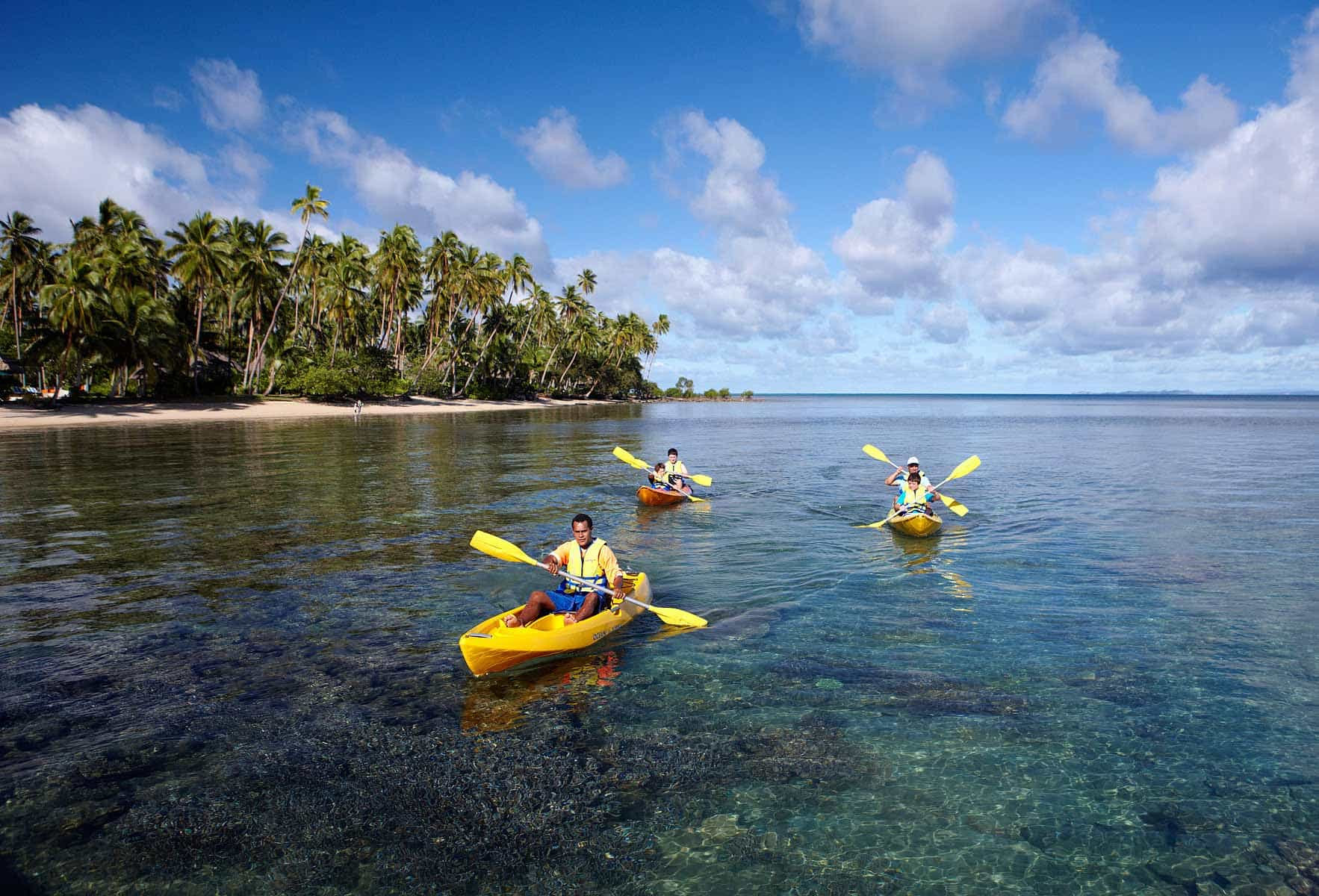 Fiji JMC Kayaking