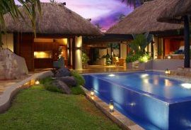 Fiji Accomodation Presidential Villa Pool