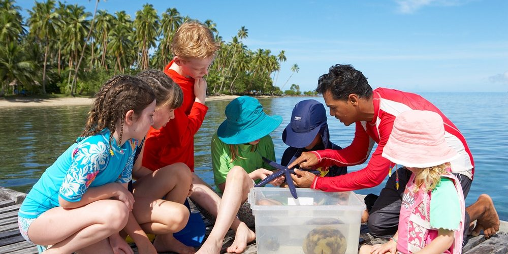 What do your kids have to look forward to on a family holiday in Fiji?