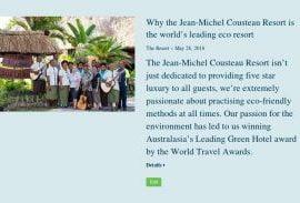 fiji resort blog