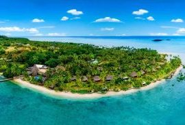 jm cousteau resort fiji aerial
