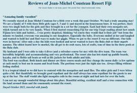 jean michel cousteau resort fiji reviews